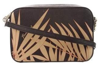 Henri Bendel Printed Saffiano Leather Bag