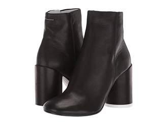MM6 MAISON MARGIELA Soft Leather Ankle Bootie