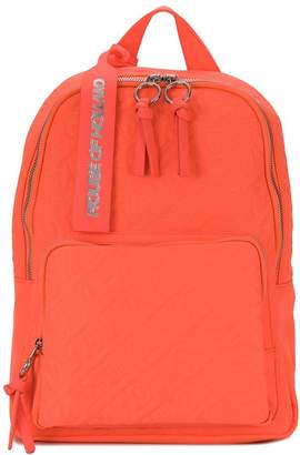 House of Holland logo embroidered backpack