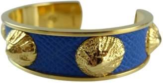 Hermes Vintage Blue Metal Bracelets