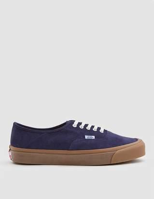 OG Style 43 LX Suede Sneaker in Maritime Blue/Light Gum