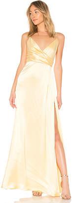 Jill Stuart JILL Jill by Wrap Gown