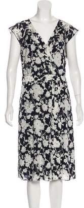 Tory Burch Silk Sleeveless Midi Dress