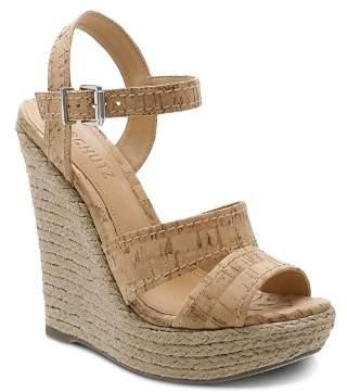 Schutz Women's Dorida High-Heel Wedge Sandals