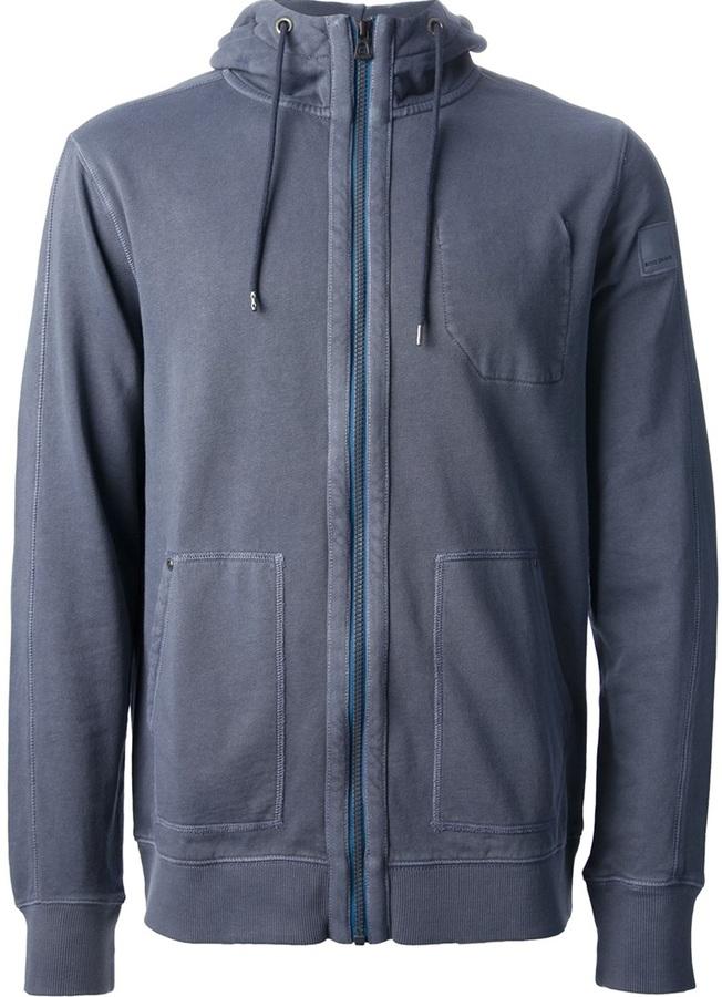 HUGO BOSS zip fastening hoodie