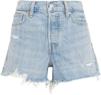 Levi's Wedgie Denim Shorts