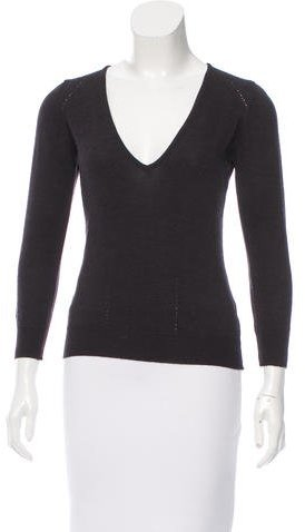Isabel Marant Isabel Marant V-Neck Wool Sweater