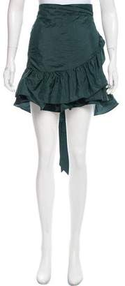 Isabel Marant Ruffled Wrap Skirt