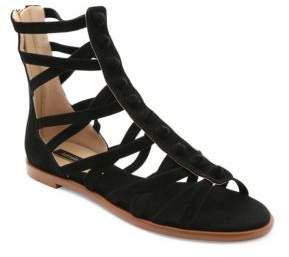 Kensie Macklin Suede Gladiator Sandals