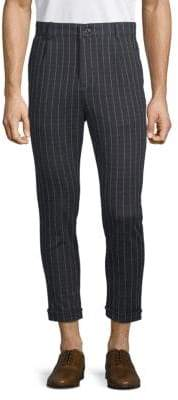 Striped Fitted Pants