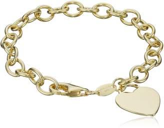 """DAY Birger et Mikkelsen Amazon Collection Sterling Heart-Tag Bracelet, 7.5"""""""