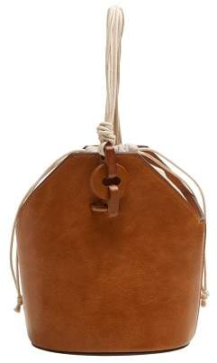 MANGO Wood detail bag