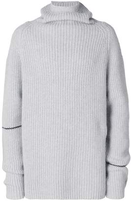 Lost & Found Rooms ribbed roll neck sweater