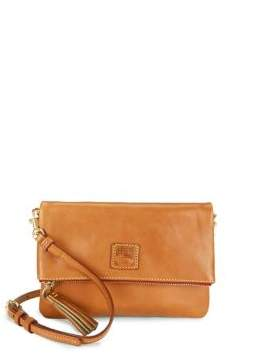 Dooney & Bourke Florentine Leather Foldover Zip Crossbody