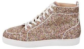 Christian Louboutin Rantus Orlato Glitter Sneakers