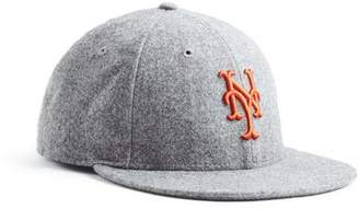 Todd Snyder + New Era Exclusive NY Mets Hat In Italian Barberis Wool Flannel