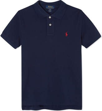 Ralph Lauren Pony custom fit short-sleeve polo shirt 6-14 years