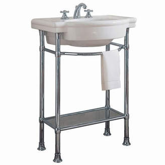 "American Standard Retrospect Ceramic 27"" Console Bathroom Sink with Overflow"