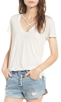 Women's Pst By Project Social T Cross Front Tee $24 thestylecure.com