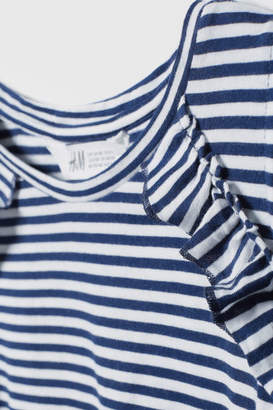 H&M Open-shoulder Top - White