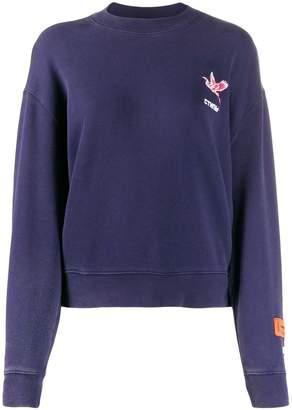 Heron Preston Heron embroidery sweatshirt