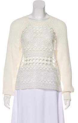 Philosophy di Alberta Ferretti Rib Knit Sweater