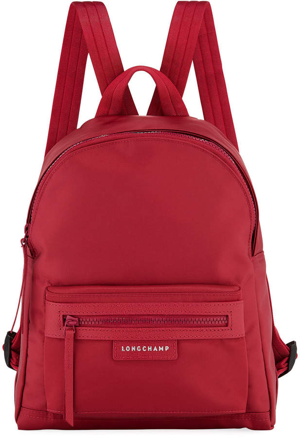 Longchamp Le Pliage Small Nylon Backpack - PINK - STYLE