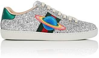 Gucci Women's New Ace Glitter Sneakers