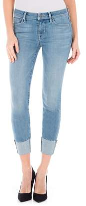 Fidelity Stevie Crop Slim Straight Leg Jeans