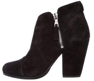 Rag & Bone Margot Round-Toe Ankle Boots
