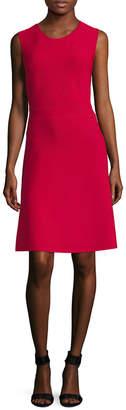 BCBGMAXAZRIA Cut-Out Flare Dress