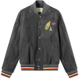 MAISON KITSUNÉ Plain Woolen Teddy Jacket