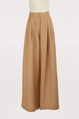 Zimmermann Silk wide leg pants