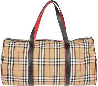 Burberry Vintage Check Duffle Bag