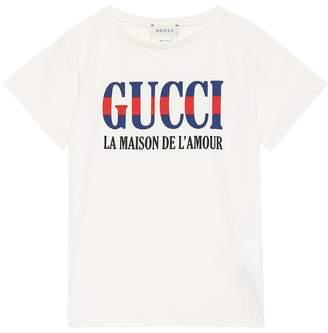 Gucci Kids L'Amour printed T-shirt