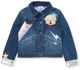 Little Marc Jacobs Denim Patch Jacket