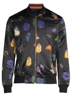 Paul Smith Gents Crystal Bomber Jacket