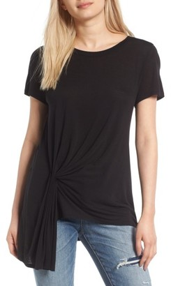 Women's Treasure & Bond Gathered Pleat Front Tee $49 thestylecure.com