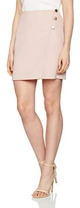 New Look Women's 5136626 Skirt, (Mid Pink), 8