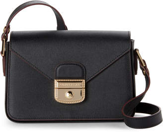 Longchamp Black Le Pliage Heritage Leather Crossbody