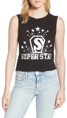 Pam & Gela Superstar Shrunken Muscle Tee