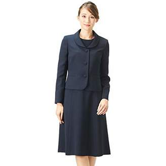 BLACK GALLERY お受験スーツ アンサンブル ママ 濃紺スーツ ジャケット 夏 レディース ネイビー 5号