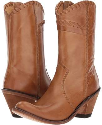 Old West Boots Crisscross Stitch Boot Cowboy Boots