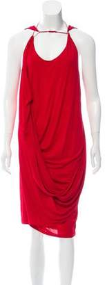 Ohne Titel Draped Sleeveless Dress
