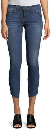 Frame Tulip Cropped Skinny Jeans