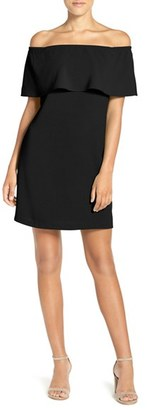 Women's Charles Henry Off The Shoulder Dress $88 thestylecure.com