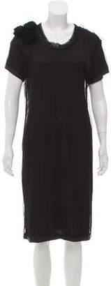 Lanvin Mesh Knee-Length Dress