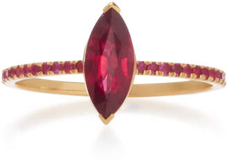 Marquis Yi Collection 18K Gold Ruby Ring