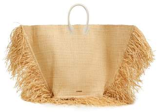 Jacquemus Le Grand Baci Woven Straw Bag - Womens - Beige