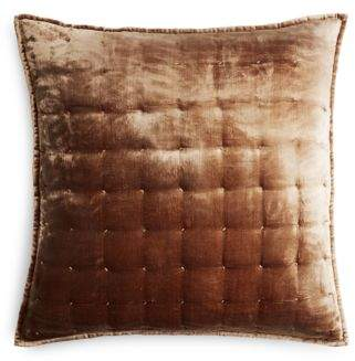 Hudson Park Collection Pietra Quilted Euro Sham - 100% Exclusive
